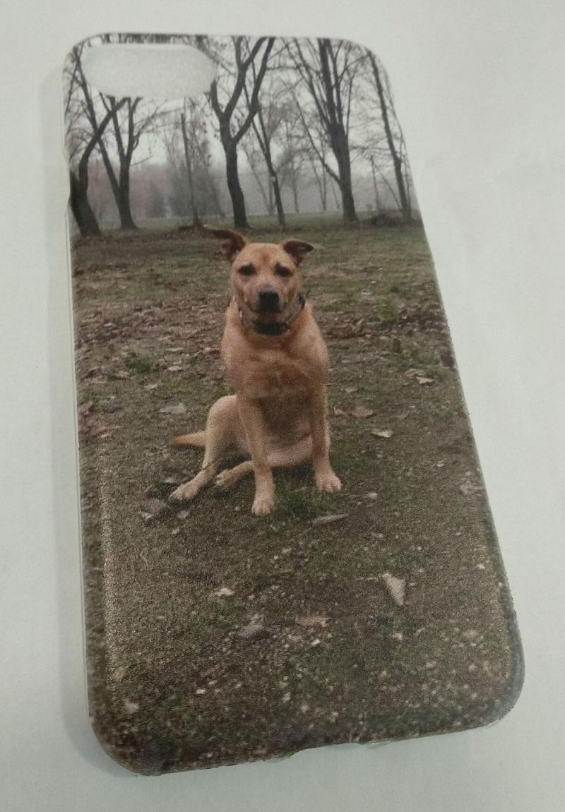 APPLE iPhone 7 egyedi kutya mintás mobiltelefon tok